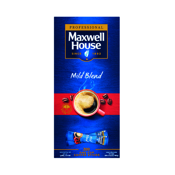 Maxwell House Instant Mild Sticks (1000 Pack) 4041138