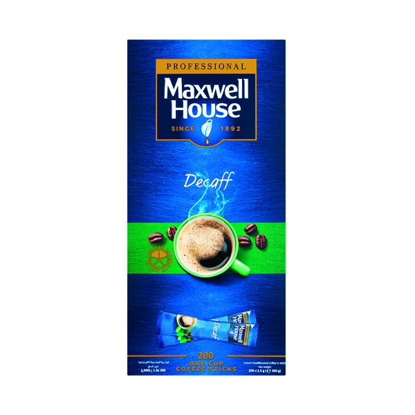 Maxwell House Instant Decaf Sticks (1000 Pack) 4041162