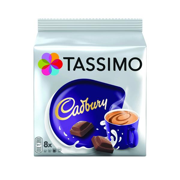 Tassimo Cadbury Hot Chocolate 240g Capsules (5 Packs of 8) 131270