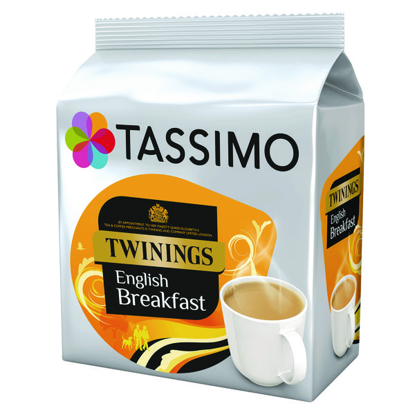 Tassimo Twinings English Breakfast Tea Pod (80 Pack) 4031568