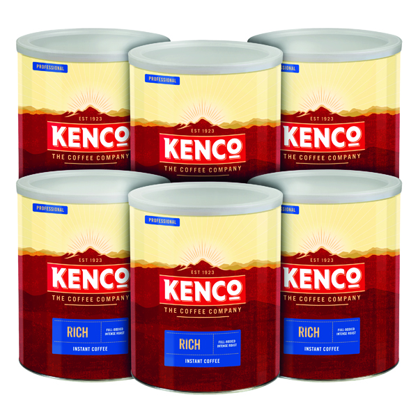 Coffee Kenco Rich Coffee Case Deal 750g (6 Pack) 4032089