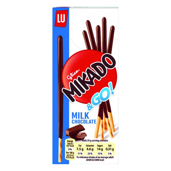 Mikado Milk Sticks Biscuit 39g (24 Pack) 750535