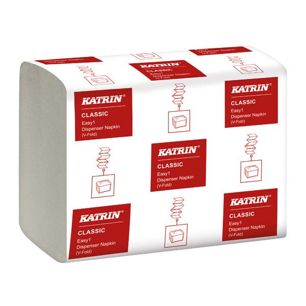 Katrin Classic EASY1 Napkin 2-Ply White 280 Sheet (42 Pack) 27569