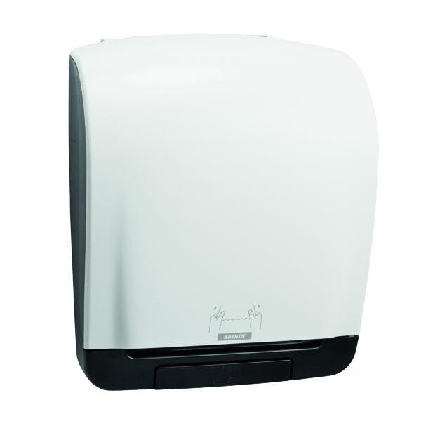 Hand Towels & Dispensers Katrin Inclusive System Towel Dispenser White 90045