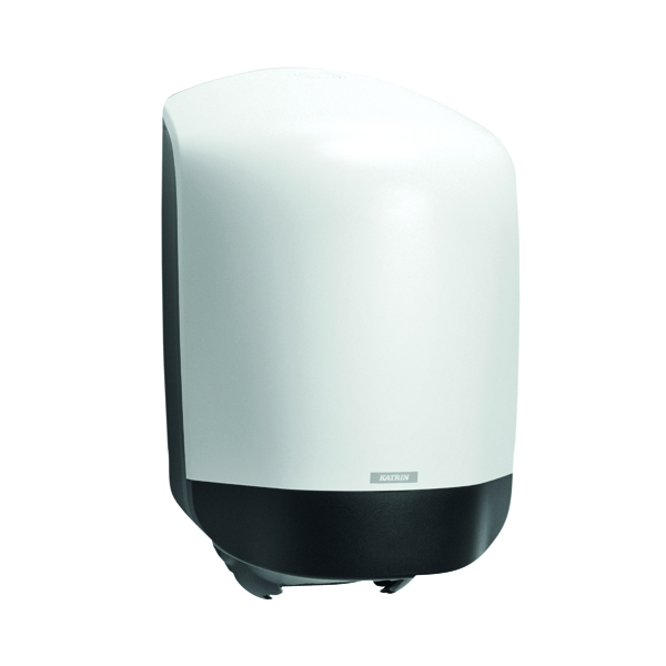 Hand Towels & Dispensers Katrin Inclusive Centrefeed Hand Towel Dispenser White 90120