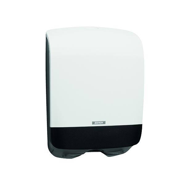 Hand Towels & Dispensers Katrin Inclusive Hand Towel Dispenser Mini White 90182