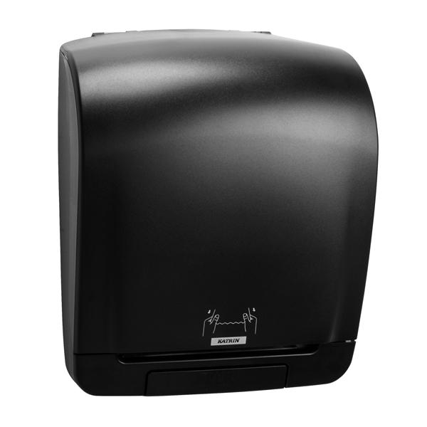 Hand Towels & Dispensers Katrin Inclusive System Towel Dispenser Black 92025