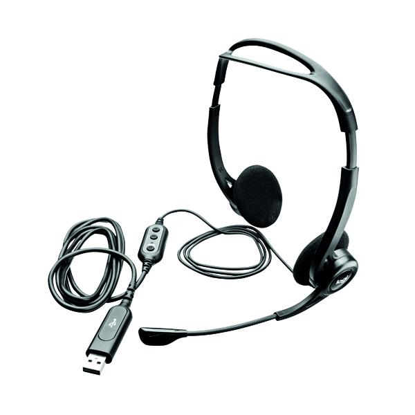 Headsets Logitech 960 USB Headset 981-000100