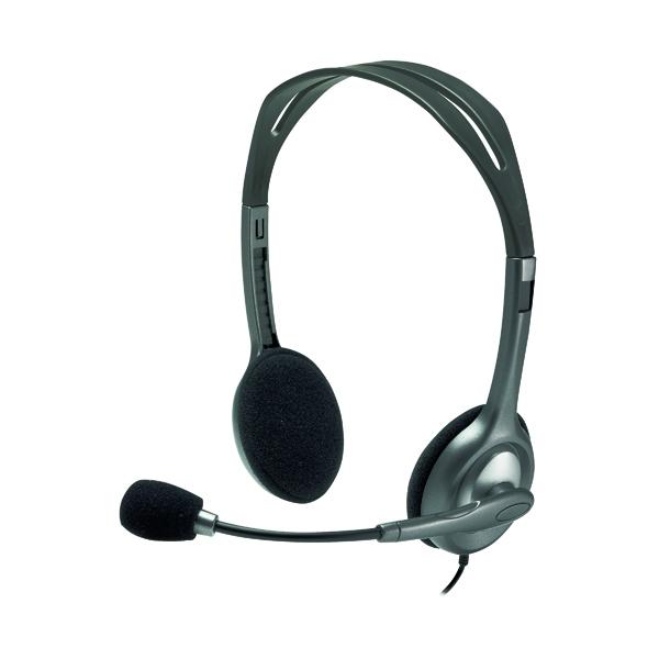 Headsets Logitech H110 Headset 981-000271