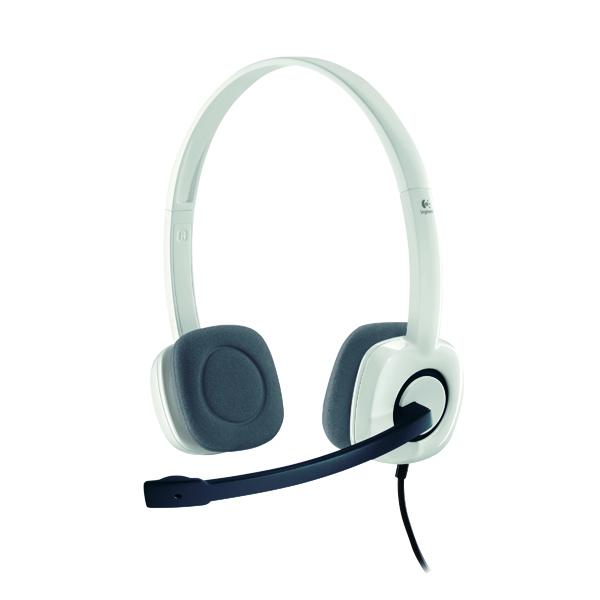 Headsets Logitech H150 Stereo Headset White 981-000271