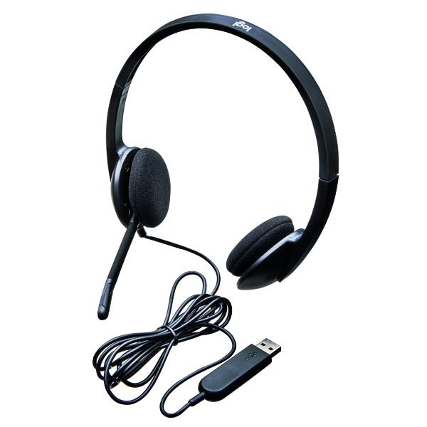 Headsets Logitech H340 USB Headset