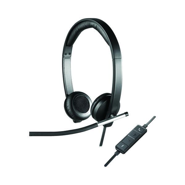 Headsets Logitech H650E Stereo Headset 981-000519