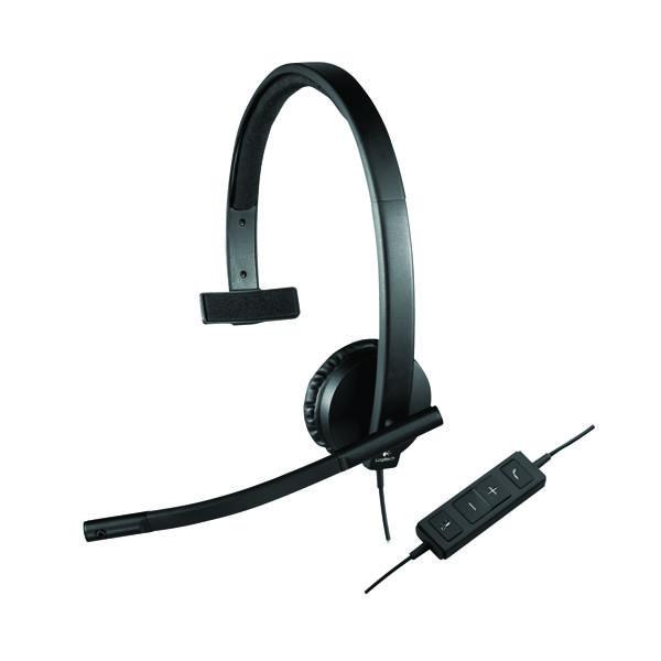 Headsets Logitech H570E Mono Headset 981-000571