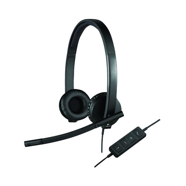 Headsets Logitech H570E Dual Headset 981-000575