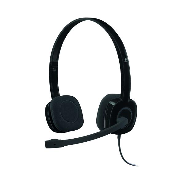 Headsets Logitech H151 Stereo Headset 981-000589