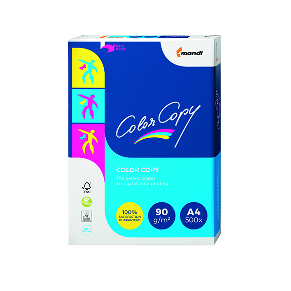 White 90gsm Color Copy A4 White Paper 90gsm (500 Pack) CCW0324