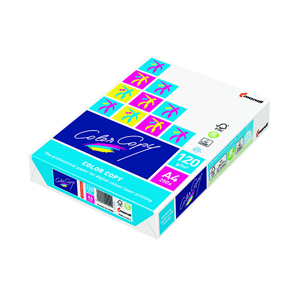 Color Copy A4 White Paper 120gsm (250 Pack) CCW0330A1