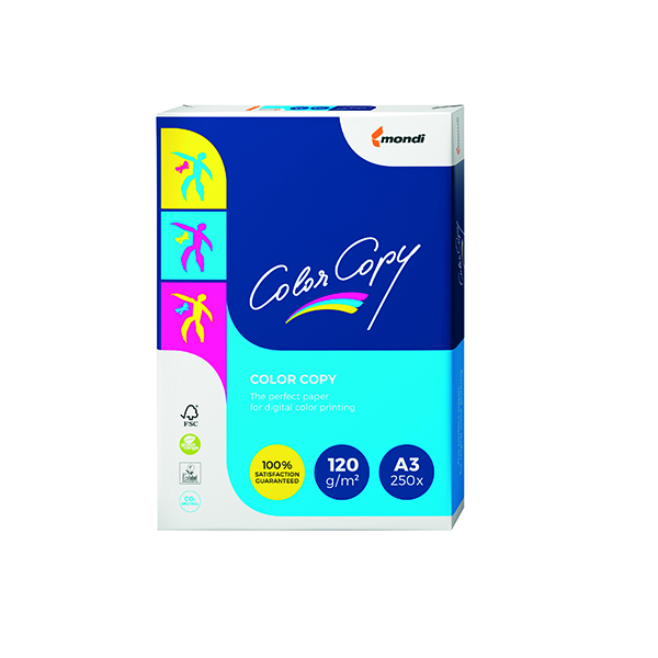 White 100gsm Color Copy A3 White Paper 120gsm (250 Pack) CCW1030A1