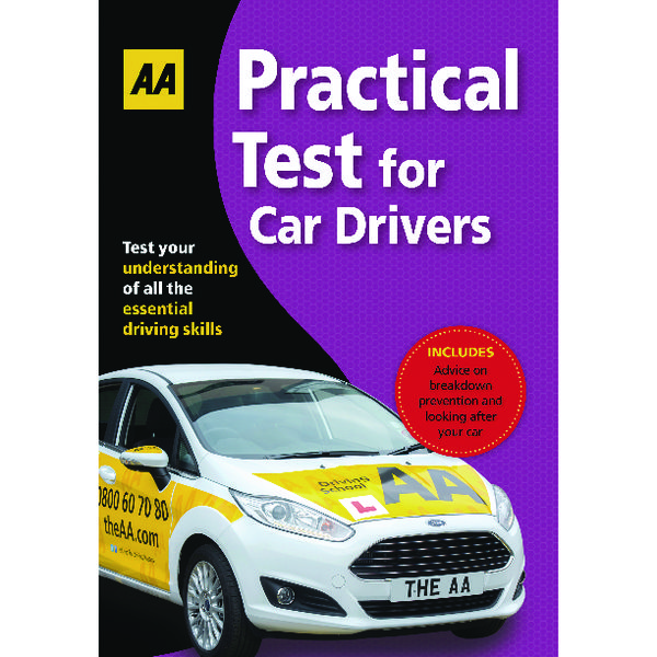 Unspecified AA Driving Test Practical Book 9780749567217
