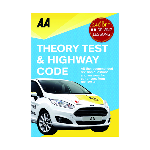 Unspecified AA Driving Test Theory and Highway Code Book 9780749578077