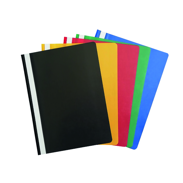 A4 Project Folders Assorted (25 Pack) PM22390
