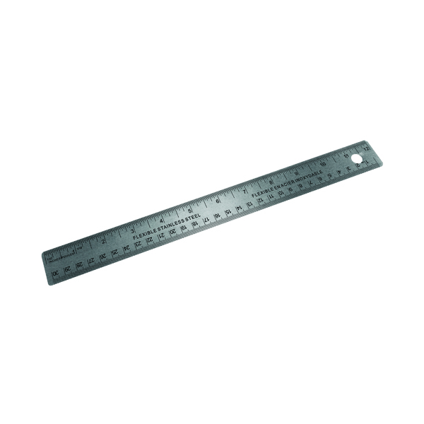 Stainless Steel 30cm/300mm Ruler 796900