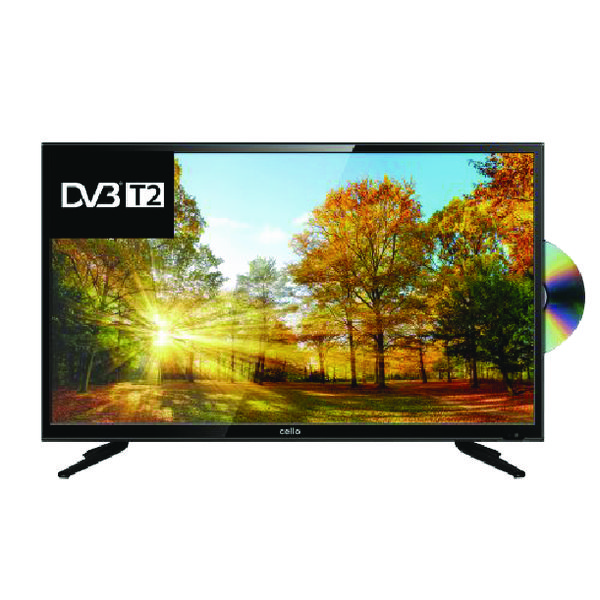 TV Cello 40 Inch LED Full HD TV DVD Combi C40227TF2