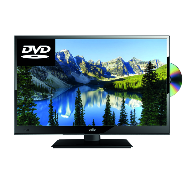 Combinations Cello 22in Full HD LED TV Built in DVD Player C22230FT2