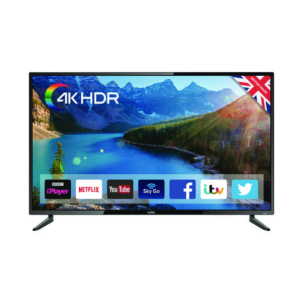 TV Cello 55 Inch Smart LED 4K TV C55SFS4K