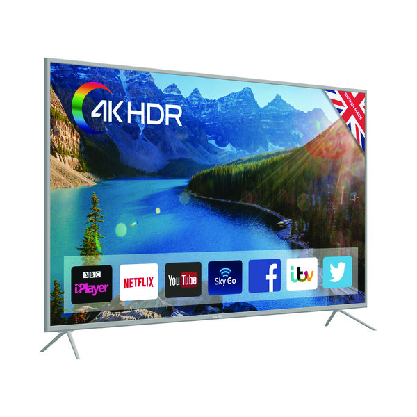 TV Cello 65 Inch Smart LED 4K TV C65SFS4K