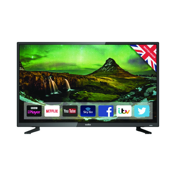 Cello 32 Inch HD Ready Smart LED TV C32FS