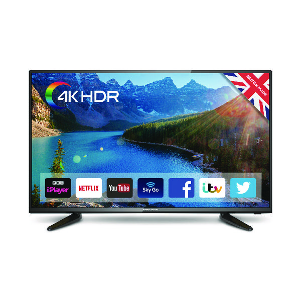TV Cello 40 Inch Smart LED 4K TV C40SFS4K