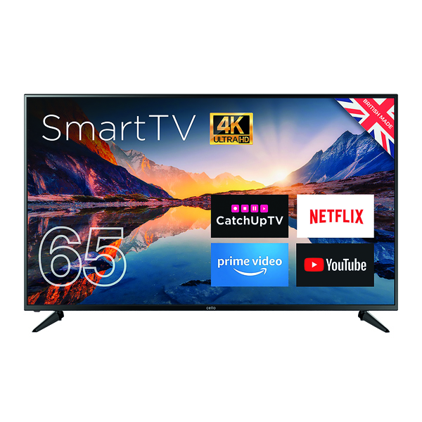 Combinations Cello 65in 4K Smart Ultra HD LED TV C65RTS4K