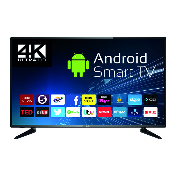 Combinations Cello 50in 4K Smart Ultra HD LED TV C50RTS4K