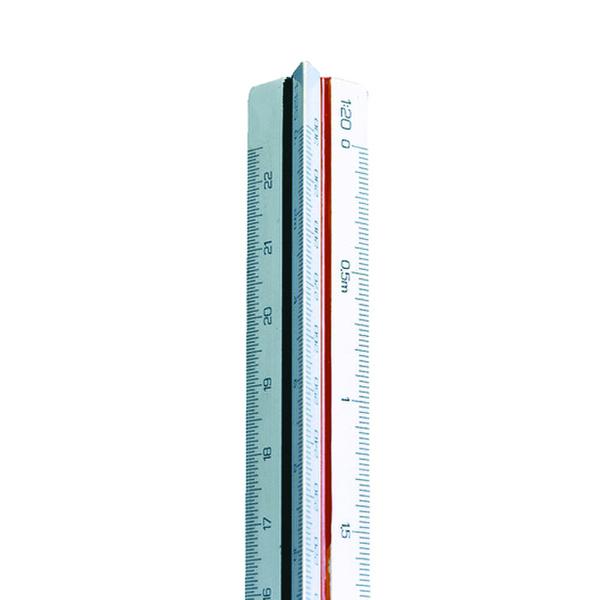 16-30cm Linex Triangular Scale Rule 1:500-2500 30cm LXH 314