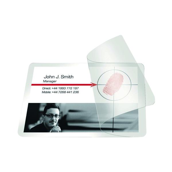 Pelltech Self-Laminating Cards 54x86mm (100 Pack) PLG25230