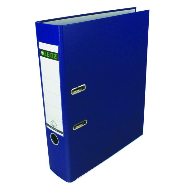 Foolscap (Legal) Size Leitz 180° Polypropylene Foolscap Blue Lever Arch File (10 Pack) 1110-35