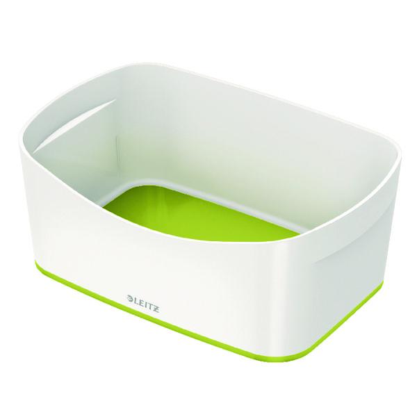 Leitz MyBox Storage Tray White/Green 52571064