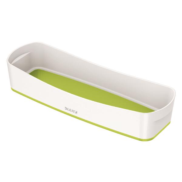 Leitz MyBox Organiser Tray Long White/Green 52581064