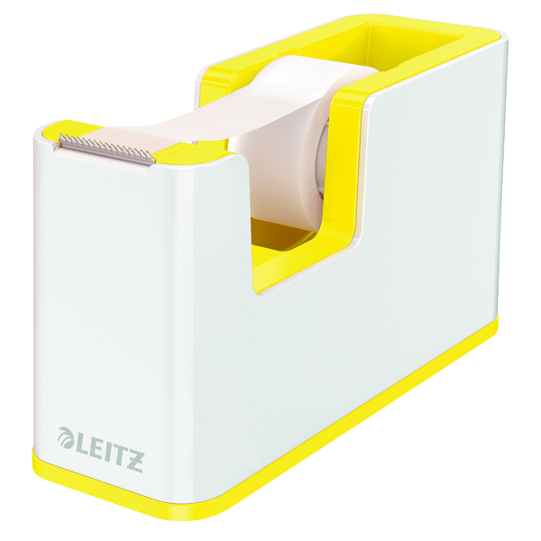 Unspecified Leitz WOW Tape Dispenser Dual Colour White/Yellow 53641016