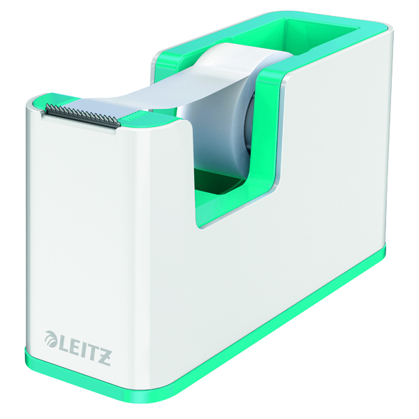Unspecified Leitz WOW Tape Dispenser Dual Colour White/Ice Blue 53641051