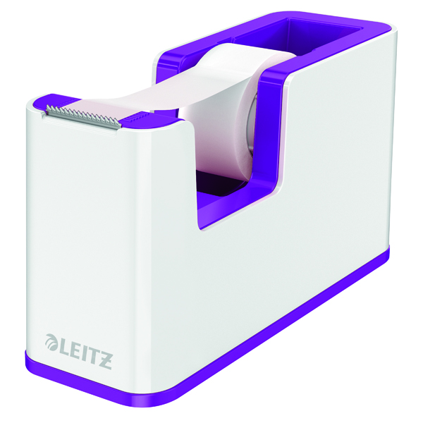 Unspecified Leitz WOW Tape Dispenser Dual Colour White/Purple 53641062