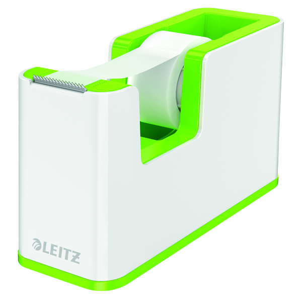 Unspecified Leitz WOW Tape Dispenser Dual Colour White/Green 53641054