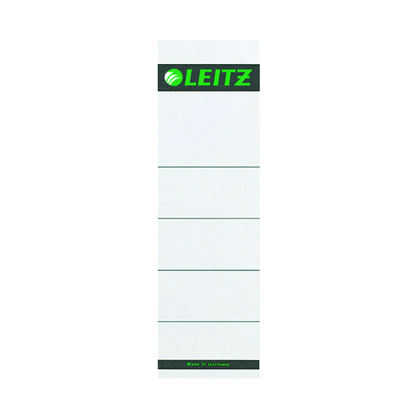 Leitz Self Adhesive Spine Labels (10 Pack) 16420085