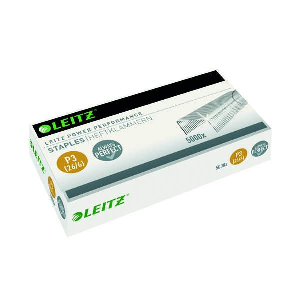 6mm Leitz P3 26/6 Staples (5000 Pack) 55721000