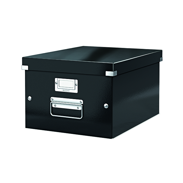 Boxes Leitz Click & Store Medium Storage Box Black 60440095