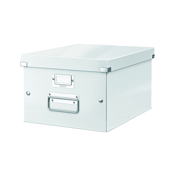 Boxes Leitz Click & Store Medium Storage Box White 60440001