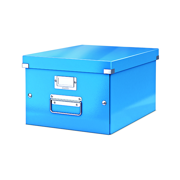 Boxes Leitz Click & Store Medium Storage Box Blue 60440036