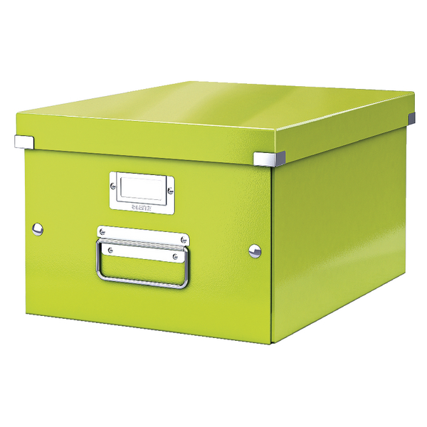 Boxes Leitz Click & Store Medium Storage Box Green 60440064