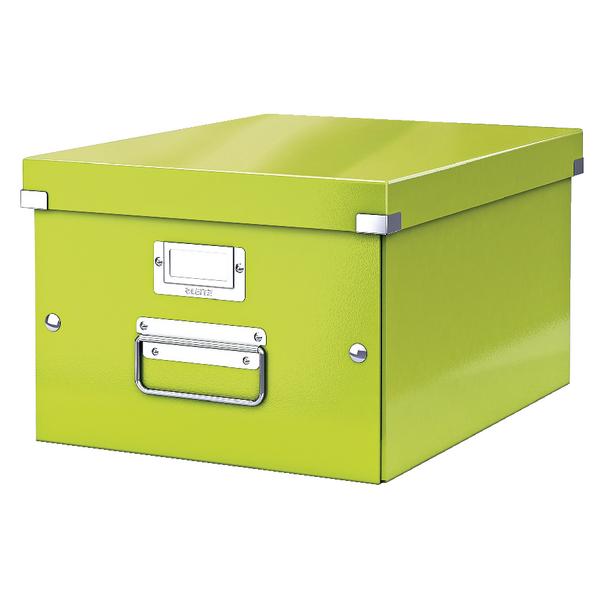 Leitz Click & Store Medium Storage Box Green 60440064